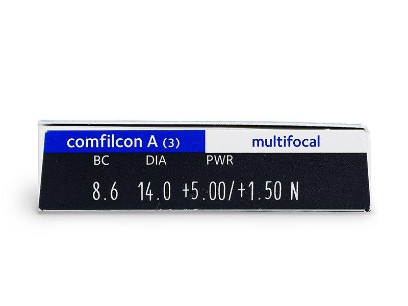 Biofinity Multifocal (3lentile) - vizualizare parametrii