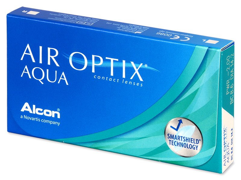 Air Optix Aqua (3 lentile) - Lentile de contact lunare