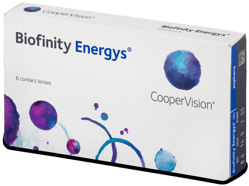 Biofinity Energys (6 lentile) - Contact lenses