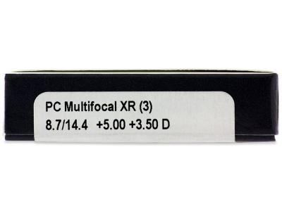 Proclear Multifocal XR (3lentile) - vizualizare parametrii