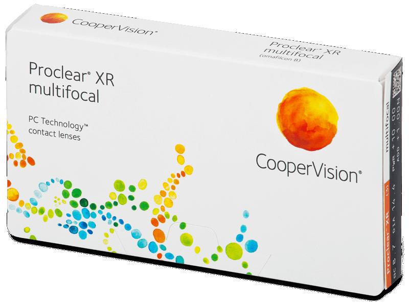 Proclear Multifocal XR (3lentile) - Lentile de contact multifocale