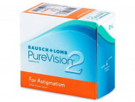Lentile de contact Bausch and Lomb - PureVision 2 for Astigmatism (6 lentile)