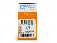 PureVision 2 for Astigmatism (6lentile) - vizualizare parametrii
