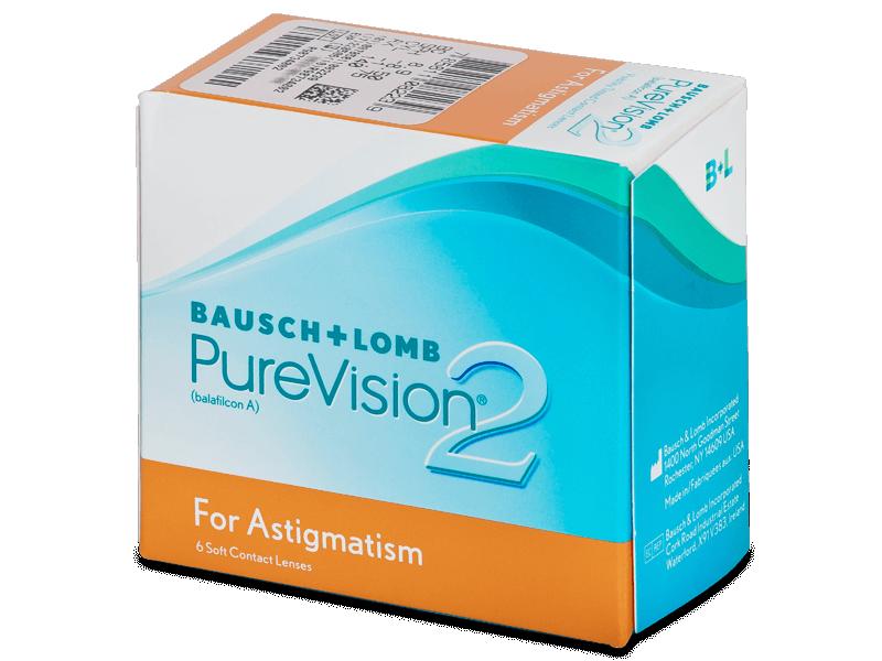 PureVision 2 for Astigmatism (6lentile) - Lentile de contact pentru astigmatism