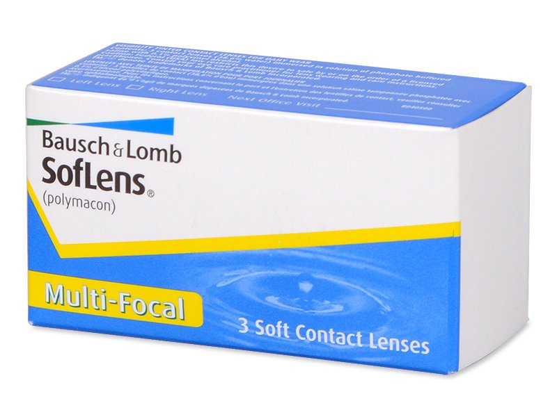 SofLens Multi-Focal (3 lentile) - Lentile de contact multifocale