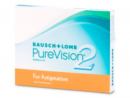 Lentile de contact Bausch and Lomb - PureVision 2 for Astigmatism (3 lentile)