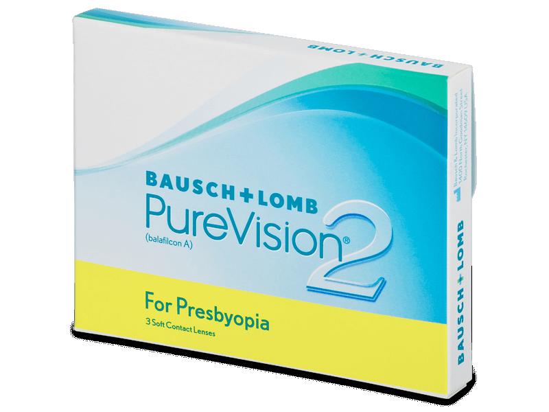 PureVision 2 for Presbyopia (3lentile) - Lentile de contact multifocale