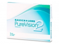 Lentile de contact Bausch and Lomb - PureVision 2 (3 lentile)