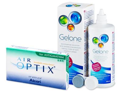 Air Optix for Astigmatism (6lentile) +soluțieGelone360ml - design-ul vechi