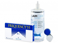Frequency 55 (6 lentile) + soluție Laim-Care 400ml