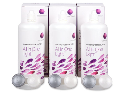 Soluție All In One Light 3 x 360 ml