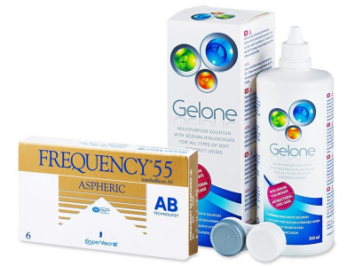 Frequency 55 Aspheric (6lentile) +soluțieGelone360ml