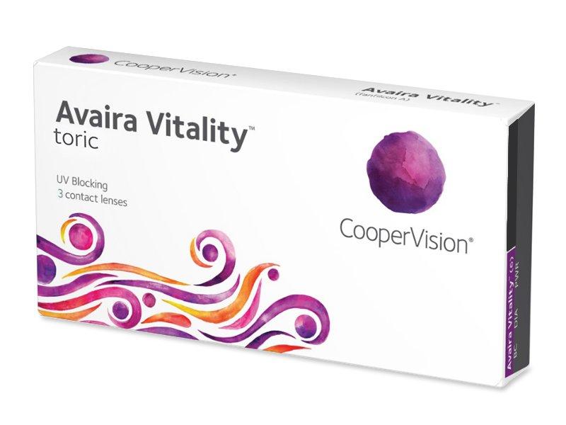 Avaira Vitality Toric (3 lentile) - Lentile de contact pentru astigmatism