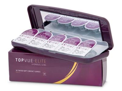 Casetă pentru lentile de unică folosintă TopVue Elite