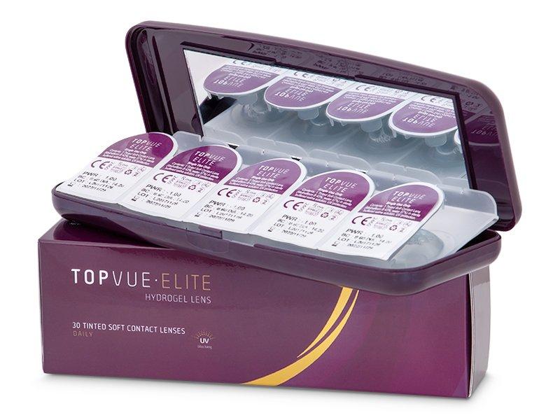 Casetă pentru lentile de unică folosintă TopVue Elite  - Illustration photo