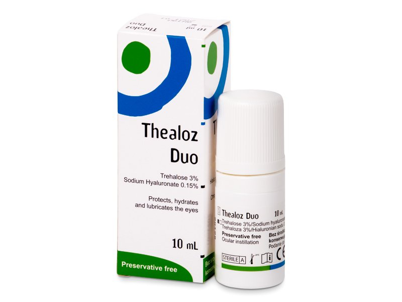 Thealoz Duo  10 ml  - Picături pentru ochi