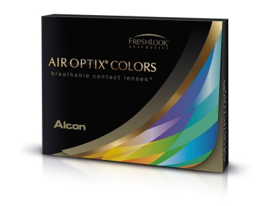 Air Optix Colors - Gemstone Green - cu dioptrie (2 lentile)