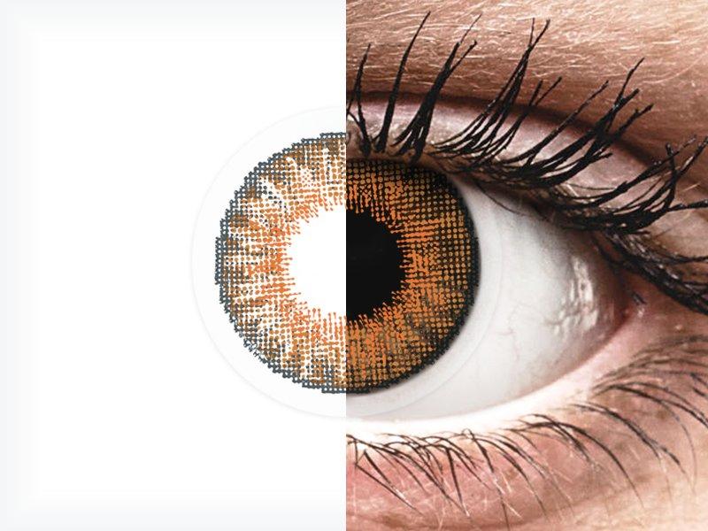 Air Optix Colors - Honey - fără dioptrie (2lentile)
