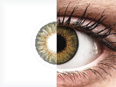 Air Optix Colors - Pure Hazel - cu dioptrie (2lentile)