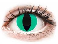Lentile de contact Maxvue Vision - ColourVUE Crazy Lens - Anaconda - fără dioptrie (2 lentile)
