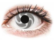 Lentile de contact Maxvue Vision - ColourVUE Crazy Lens - Blade - fără dioptrie (2 lentile)