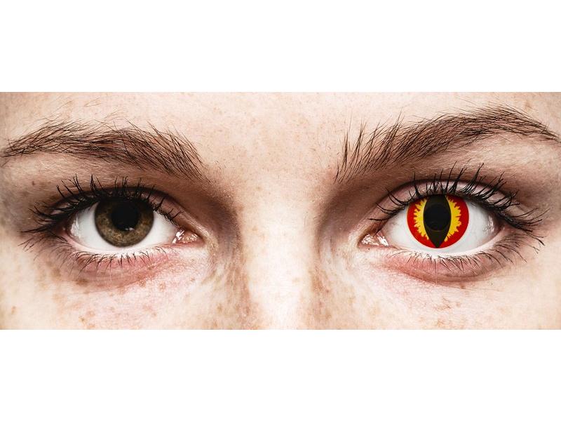 ColourVUE Crazy Lens - Dragon Eyes - fără dioptrie (2 lentile) - ColourVUE Crazy Lens - Dragon Eyes - fără dioptrie (2 lentile)