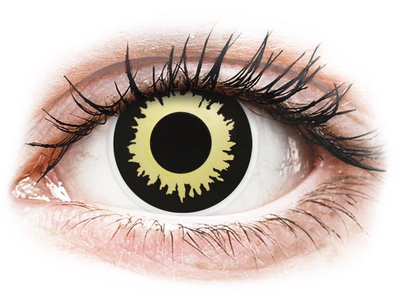 ColourVUE Crazy Lens - Eclipse - fără dioptrie (2 lentile)