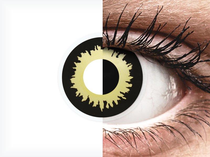 ColourVUE Crazy Lens - Eclipse - fără dioptrie (2 lentile) - ColourVUE Crazy Lens - Eclipse - fără dioptrie (2 lentile)