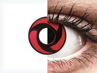ColourVUE Crazy Lens - Mangekyu - fără dioptrie (2 lentile)