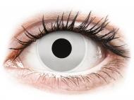 Lentile de contact Maxvue Vision - ColourVUE Crazy Lens - Mirror - fără dioptrie (2 lentile)
