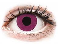 Lentile colorate speciale - fără dioptrie - ColourVUE Crazy Lens - Purple - fără dioptrie (2 lentile)