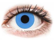 Lentile de contact albastre - fără dioptrie - ColourVUE Crazy Lens - Sky Blue - fără dioptrie (2 lentile)