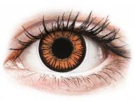 Lentile de contact portocalii - fără dioptrie - ColourVUE Crazy Lens - Twilight - fără dioptrie (2 lentile)