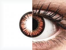 ColourVUE Crazy Lens - Vampire - fără dioptrie (2 lentile)