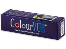 ColourVUE Crazy Lens - White Zombie - fără dioptrie (2 lentile)