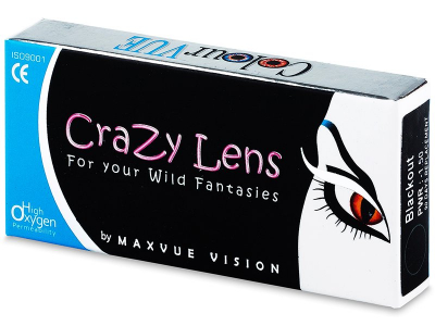ColourVUE Crazy Lens - Twilight - cu dioptrie (2 lentile)