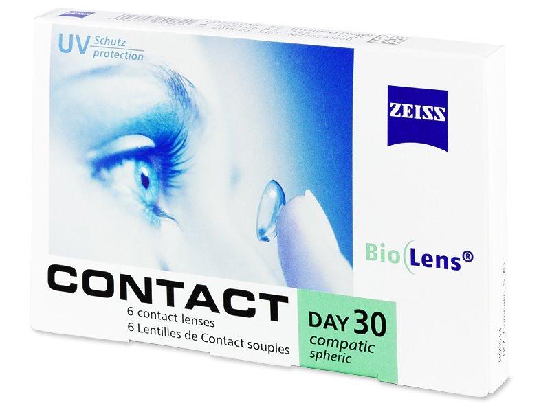 Carl Zeiss Contact Day 30 Compatic (6lentile) - Lentile de contact lunare