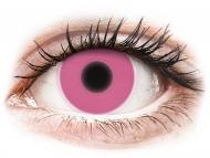 Lentile de contact Maxvue Vision - ColourVUE Crazy Glow Pink - fără dioptrie (2lentile)