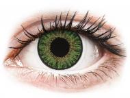 Lentile de contact verzi - cu dioptrie - TopVue Color daily - Green - cu dioptrie (10lentile)