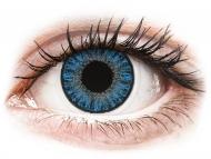 Lentile de contact albastre - cu dioptrie - TopVue Color daily - Sapphire Blue - cu dioptrie (10lentile)