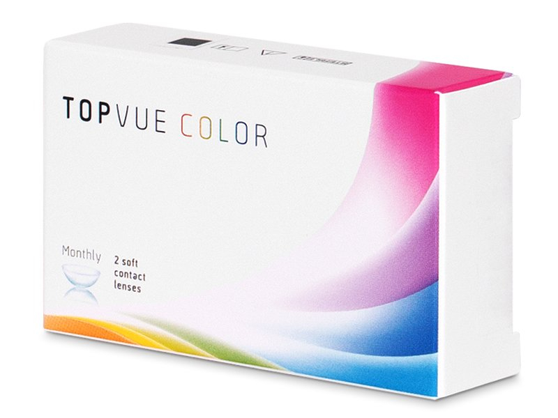 TopVue Color - Grey - cu dioptrie (2lentile) - TopVue Color - Grey - cu dioptrie (2lentile)
