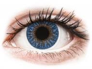 Lentile de contact albastre - cu dioptrie - TopVue Color - True Sapphire - cu dioptrie (2lentile)