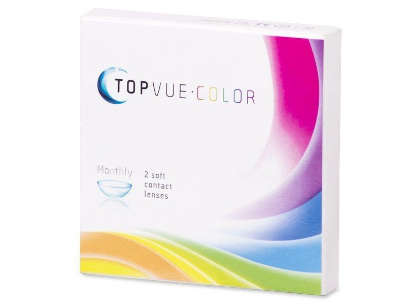 TopVue Color - True Sapphire - cu dioptrie (2lentile) - design-ul vechi