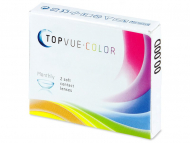TopVue Color - Brown - fără dioptrie (2 lentile) - design-ul vechi
