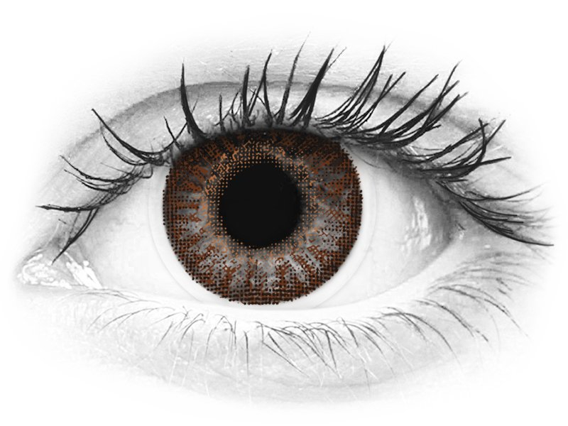 TopVue Color - Brown - fără dioptrie (2 lentile) - TopVue Color - Brown - fără dioptrie (2 lentile)