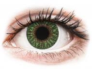 Lentile de contact TopVue - TopVue Color - Green - fără dioptrie (2 lentile)