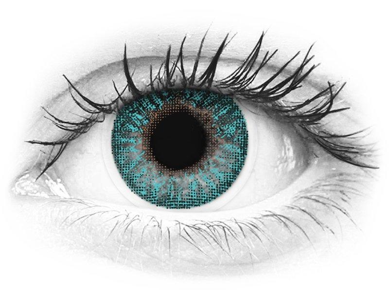 TopVue Color - Turquoise - fără dioptrie (2 lentile) - TopVue Color - Turquoise - fără dioptrie (2 lentile)