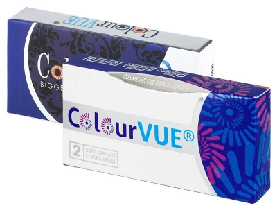 ColourVUE Glamour Blue - fără dioptrie (2lentile)