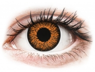 Lentile de contact Maxvue Vision - ColourVUE Glamour Honey - fără dioptrie (2lentile)