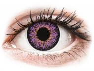 Lentile de contact mov - fără dioptrie - ColourVUE Glamour Violet - fără dioptrie (2lentile)
